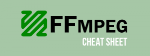 FFmpeg cheat sheet 360 video